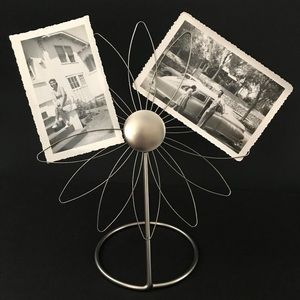 Umbra Photo Frame | Wire Flower Displays Photos